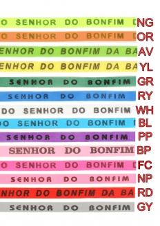Brazilian wish ribbons Senhor do Bonfim