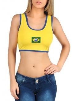 Brazil Mini Top - Yellow