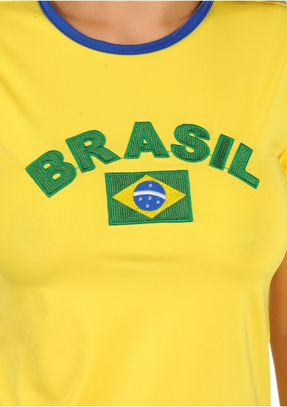 Brazil T-shirt - Yellow