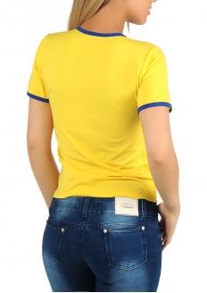 ブラジルTシャツ・イエロー