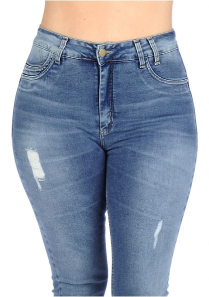 Sawary Stretch Skinny Pants with Inner Cinther 360 - Plus Size