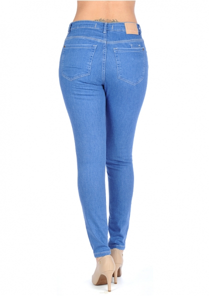 Disparate Stretchable Skinny Jeans - Blue