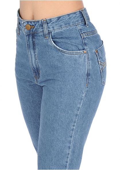 Zune Fashion Traditional Boyfriend Style Jeans - Blue