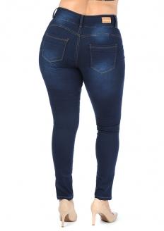 Zune Denim One Size Calça Jeans Tamanho Único - Veste do 42 ao 46