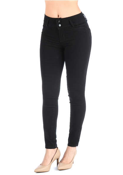 Sawary Skinny Pant with Removable Butt Pad - Black