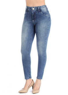 Sawary Skinny Jeans Pants - Blue