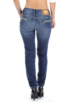 Sawary Skinny Jeans with Butt Pad