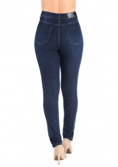 Sawary Super Lipo Skinny Pants with Inner Cinther - Indigo Blue