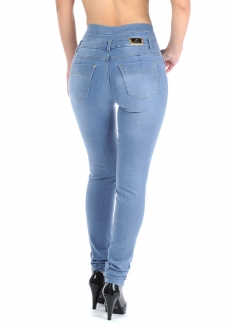 Sawary High Rise Skinny Jeans with Removable Butt Pad