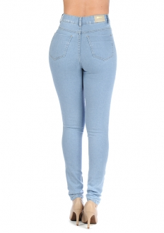 Sawary Super Lipo Skinny Pants with Inner Cinther - Light Blue