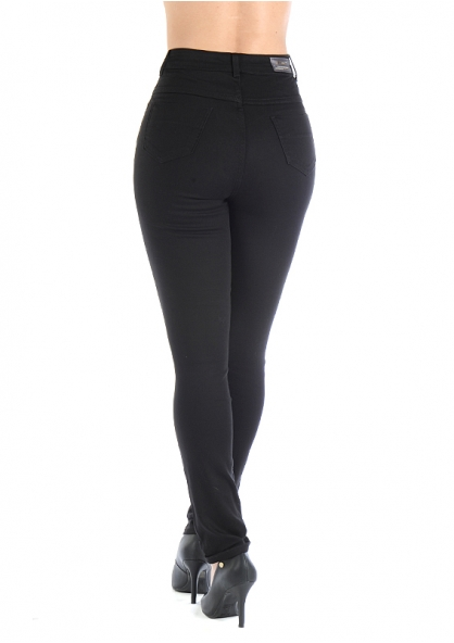 Sawary Super Lipo Legging Pants with Inner Cinther - Black