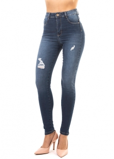 Sawary Super Lipo Skinny Pants with Inner Cinther - Dark Blue