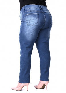 Sawary Butt Lift Cut Skinny Pant - Plus Size
