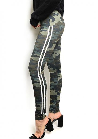 Camouflage Fleece Legging