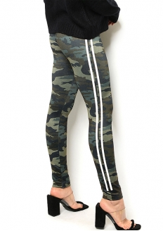 Camouflage Fleece Legging