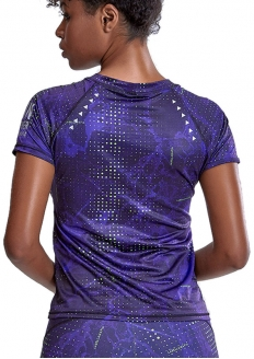 Labellamafia Night On Run T-shirt - Purple