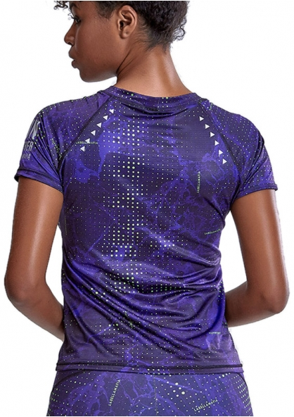 Labellamafia Night On Run T-shirt - Purple