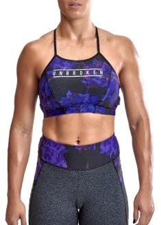 Labellamafia Cross Training Umbroken Padded Top - Purple