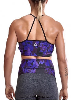 Labellamafia Cross Training Umbroken Padded Top - Purple