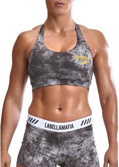 Labellamafia Cross Training Grey Stone Iron Top