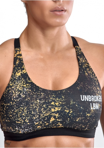 Labellamafia Unbroken Cross Training Yellow War Padded Top