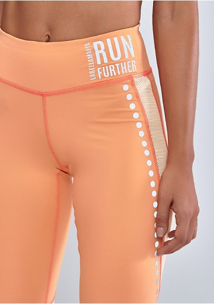 Labellamafia Running Day Legging - Orange