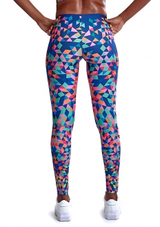 Labellamafia Kaleidoscope Legging - Navy