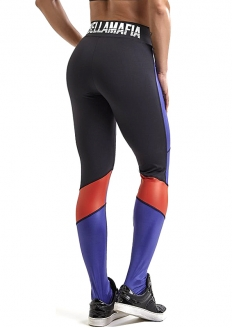 Labellamafia Bodybuilding Glossy Legging - Black