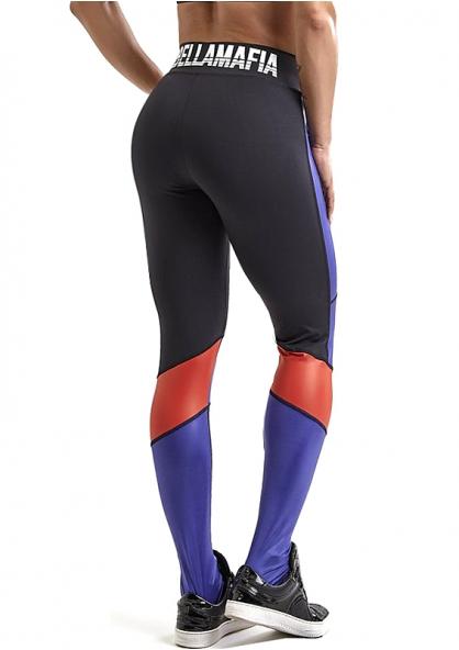 Labellamafia Bodybuilding Glossy Legging - Black