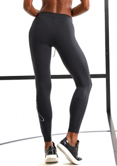 Labellamafia Glam Legging Pants - Black / Silver