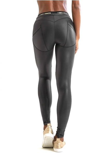 Labellamafia Essentials Classic Legging - Black / Gold