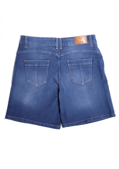 Sawary Bermuda Jeans High Waist Jeans - Plus Size