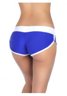 Brazil Micro Short - Blue / White