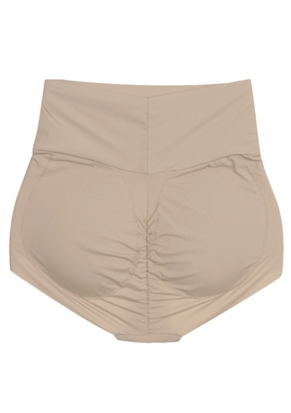 2 Rios High Rise Padded Panty - Beige