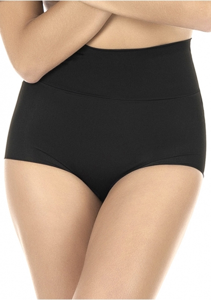 2 Rios High Rise Padded Panty - Black