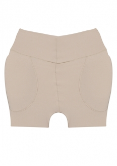 2 Rios Shape Bermuda with Sides Hip Padding - Beige