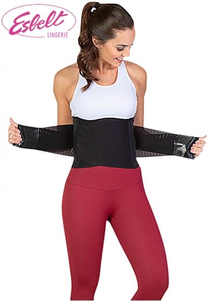 Esbelt Unisex Easy Waist Traning Belt - Black