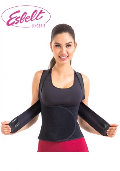 Esbelt Female Posture Corrector - Black
