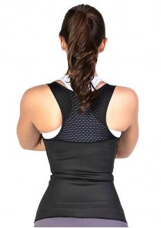 Esbelt Cinta Camiseta Active Flexform - Preto