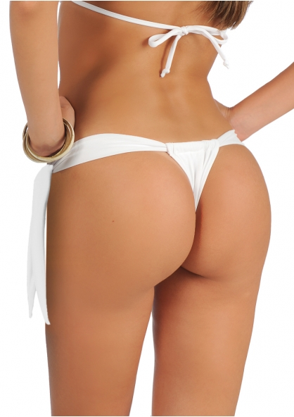SANNA'S Swimwear Curtain Style Brazilian Thong Bottom