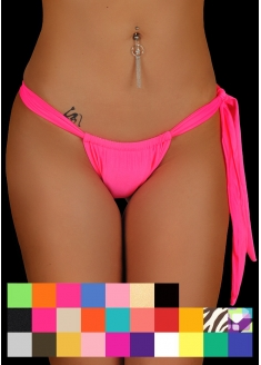 SANNA'S Swimwear Curtain Style Brazilian Cut Bottom