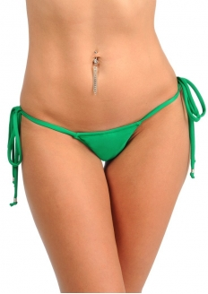 SANNA'S Swimwear Tie Loop Micro Thong Bottom