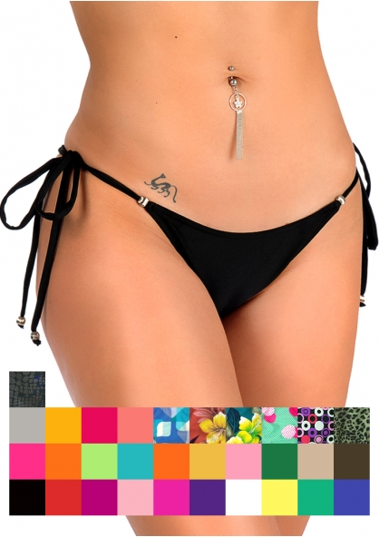 SANNA'S Swimwear Tie Loop Brazilian Cut Bottom