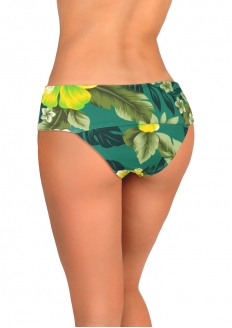 SANNA'S Swimwear High Rise Bikini Bottom with Ring