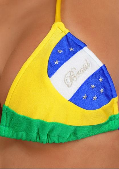 SANNA'S Swimwear Brasil Triangle Top