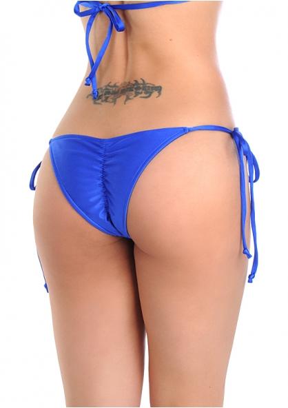 SANNA'S Swimwear Tie Loop Brazilian Cut Scrunch Bottom