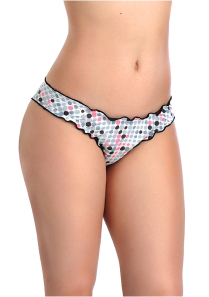 SANNA'S Swimwear Reversible Ripple Bottom