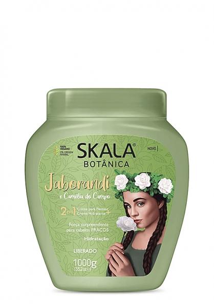 Skala Botânica Jaborandi 2 in 1 Combing Cream + Moisturizing Hair Cream 1kg