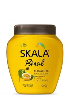 Skala Brasil Passion Fruit and Patauá Oil 2 in 1 Combing Cream + Moisturizing Hair Cream 1kg