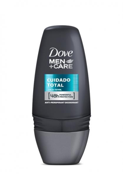 Dove Men Care Desodorante Antitranspirante Roll-On 48h - Cuidado Total 50ml